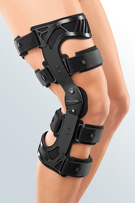 knee orthosis cruciate ligament rupture cushion