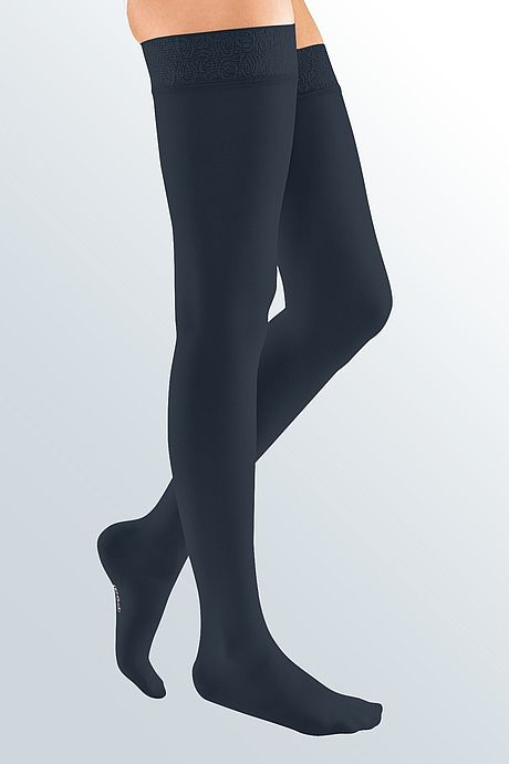 mediven elegance compression stockings veanous treatment navy