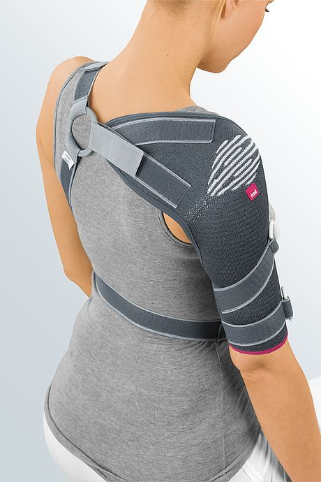 Omomed shoulder soft support detail picture from the back