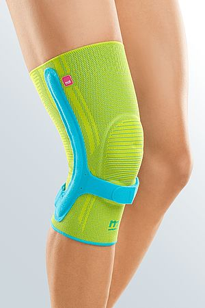 Genumedi PSS knee support lime azur main product picture