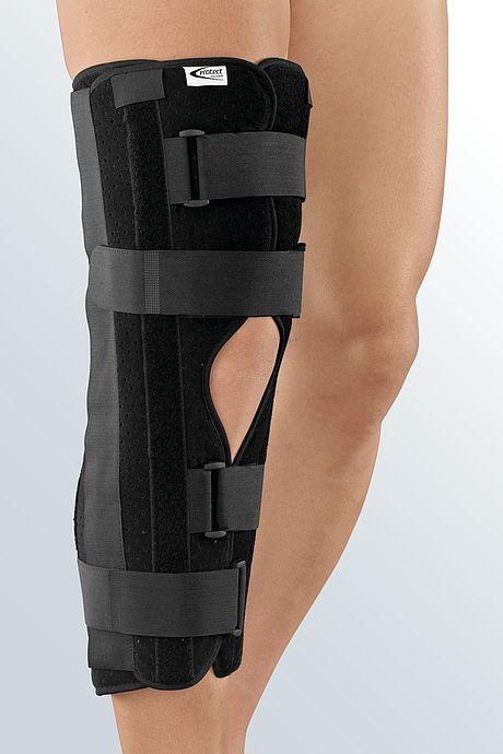 splint immobilization knee