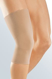 medi elastic knee supports caramel