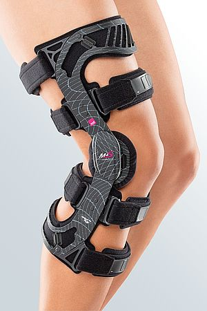 knee orthosis cruciate ligament rupture comfort cushion
