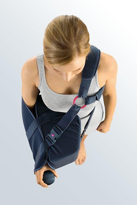 medi SLK 90 shoulder positioning cushion from above